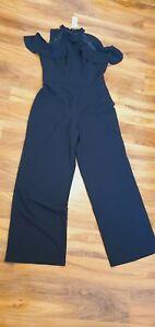 Lipsy jumpsuit,  cold shoulder jumpsuit size 16 BNWT