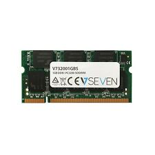 V7 v732001gbs Notebook ddr1 SO-DIMM Memoria 1gb, 400mhz, cl3, pc3200