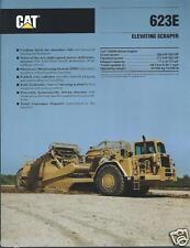 Equipment Brochure - Caterpillar - 623E - Elevating Scraper - 1990 (E2389)