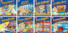 8 CD Junior Professor Educational Bundle for Kids 7-10 in English and Spanish
