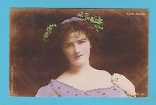 ACTRESS - ARISTOPHOT POSTCARD - ACTRESS -  MISS  LOUIE  POUNDS  -  1902