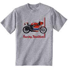 HONDA RCB 1000 1976 Style-neuf coton gris T-Shirt-Toutes les tailles en stock