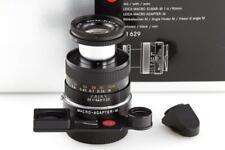 Leica Macro-Elmar-M 11629 4/90mm black 6-bit Set // 32921,3
