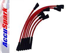 AccuSpark Rojo Alto Rendimiento CARBONO Núcleo Silicona Ht Cables para MGC 3000