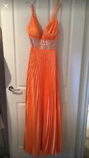 Stunning pleated ballgown size 10
