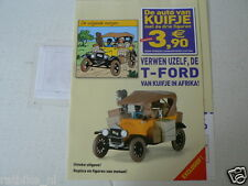 T-FORD DE AUTO VAN KUIFJE IN AFRIKA FLYER TINTIN, STRIP COMIC