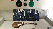 """RARE Huge 1978 ATLANTIC Promo Poster FOREIGNER DOUBLE VISION 47""""x23"""" no lp cd"""