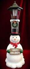 Snowman Outdoor Garden Solar light Statue Figurine-Christmas decor