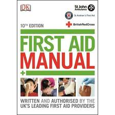 10th Edition First Aid Manual Book - 2015 Update - St John Ambulance / Red Cross