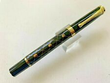 New Jinhao Black & Gold Metal Fountain Pen FINE two tone gold nib VERY SMOOTH!!!