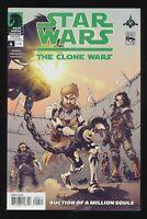 Star Wars The Clone Wars #4 (Dark Horse Comics 2008) SEE SCANS! WOW! RARE!