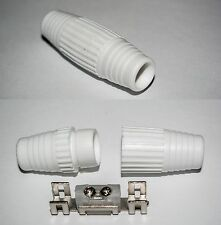 Coax aerial cable Joiner Pack of 2