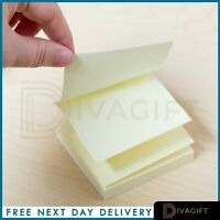 300 600 Yellow Removable Sticky Post It Notes Pads 76mm x 76mm Post-It Note