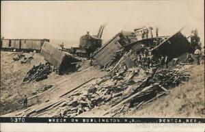 RPPC Seneca,NE Wreck on Burlington R.R. Thomas County Train Wreck Nebraska