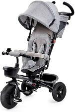 Kinderkraft Dreirad 6 in 1 AVEO, Kinderdreirad, Jogger mit Zubehör, Klappbar,