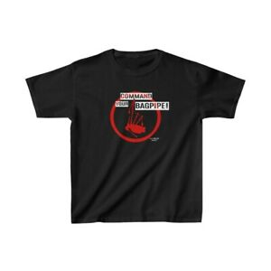 Command Your Bagpipe! Kids Heavy Cotton™ Tee