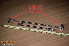 Universal Delantero Divisor Difusor Varillas de soporte 260-440 mm ajustable rápido separar