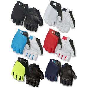 Giro Monaco II Mitts Road Bike Cycling Gloves Cycle Gel Padding Comfort New