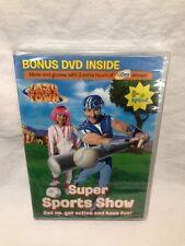 LAZY TOWN - SUPER SPORTS SHOW w FITNESS DVD 2 Hour Bonus Region 1 USA Canada NEW