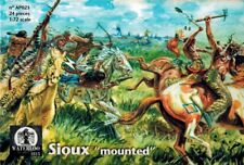 Waterloo 1815 - 023 - Sioux mounted - Indianer - 1:72