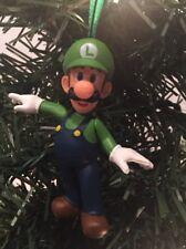 NIntendo Luigi Christmas Tree Ornament SUPER MARIO BROTHERS NES SNES N64 Switch