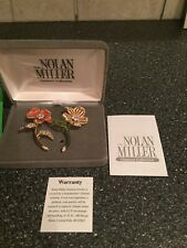 Nolan Miller Glamour Collection Country Garden Flower Pin Set ~ New Old Stock