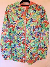 Cat & Jack Floral Raincoat Wind Jacket Coat Size XL (14-16) Girl Brand New Tags