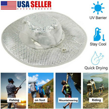 Evaporative Cooling Bucket Hat Hydro UV Protection Cooler Arctic Ice Caps US NEW