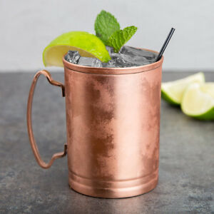 USA SELLER  MOSCOW MULE COOPER MUGS (2) 14 OZ LIBBEY MM-200 FREE SHIP USA ONLY