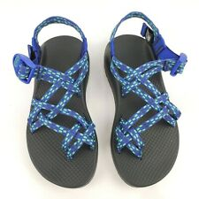 Chaco ZX/2 Sport Sandals Women's size 6M Scope Royal Blue Green Hiking Shoes NEW