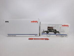 CT237-3 #2x Märklin Gauge 1 Empty Box: Wagon 1991+ 58271, VG