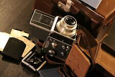 Medium format film camera Primarflex II with Carl Zeiss 1:3.5 F=10.5cm lens set