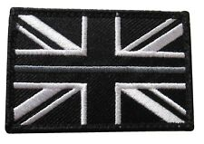 Thin Grey Line HMP Prison Officer Service Union Jack Badge Patch Large TRF HMP