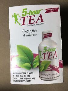 NEW 5-hour TEA Raspberry Flavor 6-Pack exp. 02/2022 NEW