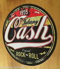KULT Oldschool Aufkleber Johnny Cash Rockabilly Vintage Sticker Rock n Roll USA
