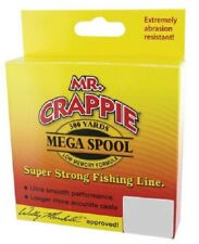 Mr. Crappie Monofilament Fishing Line 8lb. Clear 500yds.