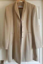 Gerry Weber Ladies Nude Long Blazer Uk12 Rrp170 Formal/Work/Party/Office/Wedding