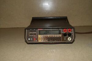KEITHLEY 197 AUTORANGING MICROVOLT DMM MULTIMETER (T1)