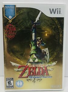 🔥The Legend of Zelda: Skyward Sword (Nintendo Wii, 2011) BRAND NEW Sealed 🔥🔥