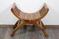 Design Sitzmöbel Stuhl Scherenstuhl aus Holz