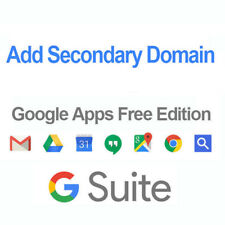 Add Secondary Domain - Google Apps G suite Free edition