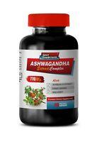 fertility pills men - ASHWAGANDHA ROOT COMPLEX 770mg - anti depressant - 60 Caps