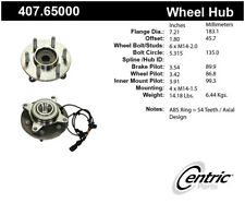 Wheel Bearing and Hub Assembly-Premium Hubs Front Centric 407.65000