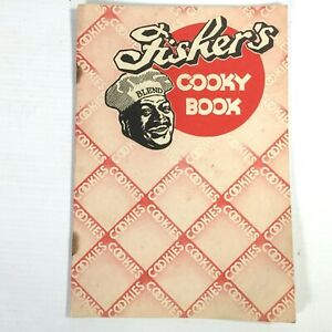 1937 FISHER'S COOKY BOOK dessert recipes FISHER'S FLOURING MILLS CO. cookies