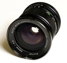 Vivitar 28mm f/2.5 Auto Wide-Angle Lens For Canon FD Mount Film Cameras