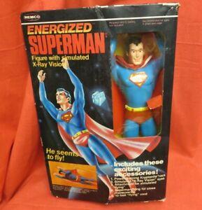 Remco Energized Superman Action Figure1979 Vintage DC Comics - JOEZETA