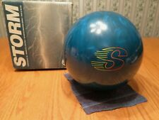 Storm Blue Thunder Bowling Ball 11.38 Lbs. Never Drilled Unused With Box