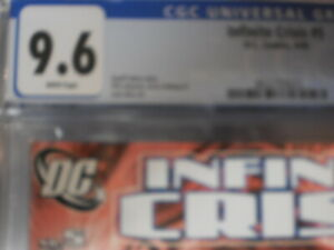 INFINITE CRISIS 5 CGC 9.6 NEW BLUE BEETLE 1ST APPEARANCE MOVIE CONFIRMED