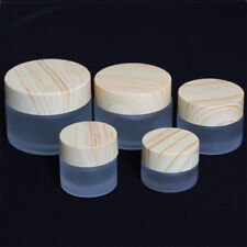 Facial cream jar Glass 5g 10g 15g 20g 30g 50g empty cosmetic container Thick