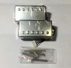 USA Gibson LP SG Guitar Traditional Burstbucker 1&2 Humbucker PICKUP SET Nickel